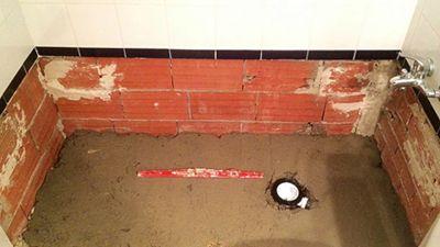 herramientas plato ducha